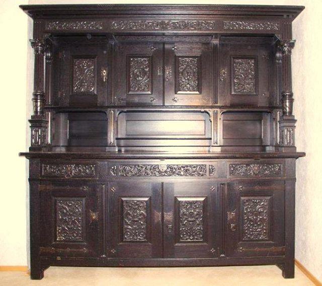 neobarock wohnzimmer:Typisches Möbel im neoklassischen/neobarocken Stil (um 1900)