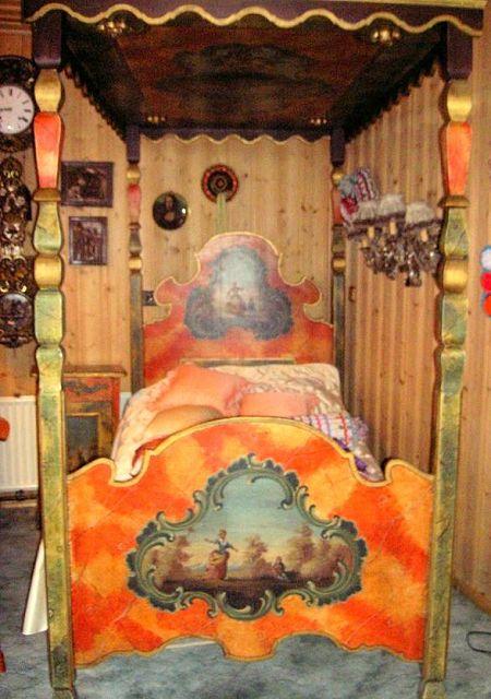 Bauernmöbel - Stilschlafzimmer | Die Kunst und ...