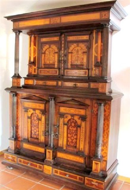 renaissanceschrank 17 jhdt die kunst und antiquit tenb rse. Black Bedroom Furniture Sets. Home Design Ideas