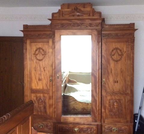 Schlafzimmer (Jugendstil) | Die Kunst und Antiquitätenbörse