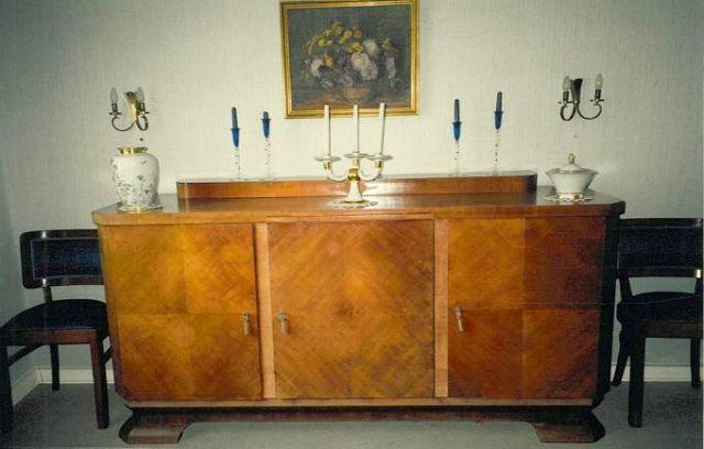 esszimmer (um 1930) | die kunst und antiquitätenbörse, Esszimmer dekoo