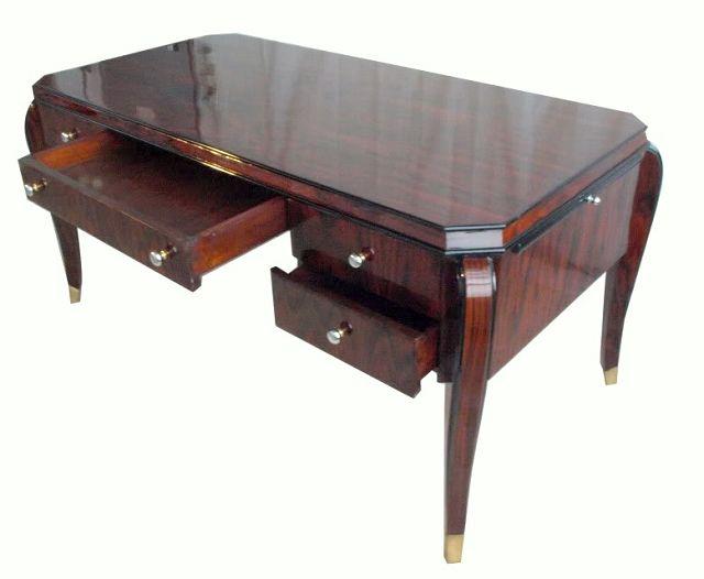 art deco schreibtisch nachbau die kunst und antiquit tenb rse. Black Bedroom Furniture Sets. Home Design Ideas