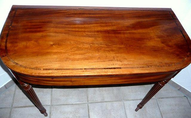 karten spieltisch england um 1820 die kunst und antiquit tenb rse. Black Bedroom Furniture Sets. Home Design Ideas